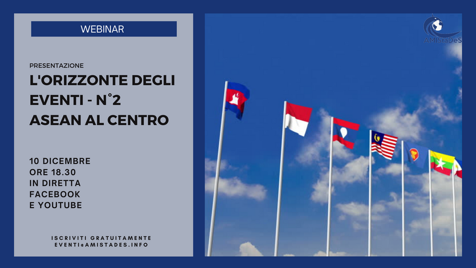 "Conferenza online ""ASEAN al Centro"", 10 dicembre 2020"
