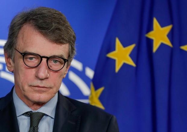 David Sassoli, Presidente del Parlamento europeo (Ansa)