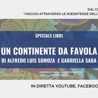 """Presentazione del Libro """"Un Continente da Favola""""- 29 gennaio 2021"""