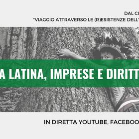 """Webinar gratuito """"America Latina, imprese e Diritti Umani""""- 15 gennaio 2021"""