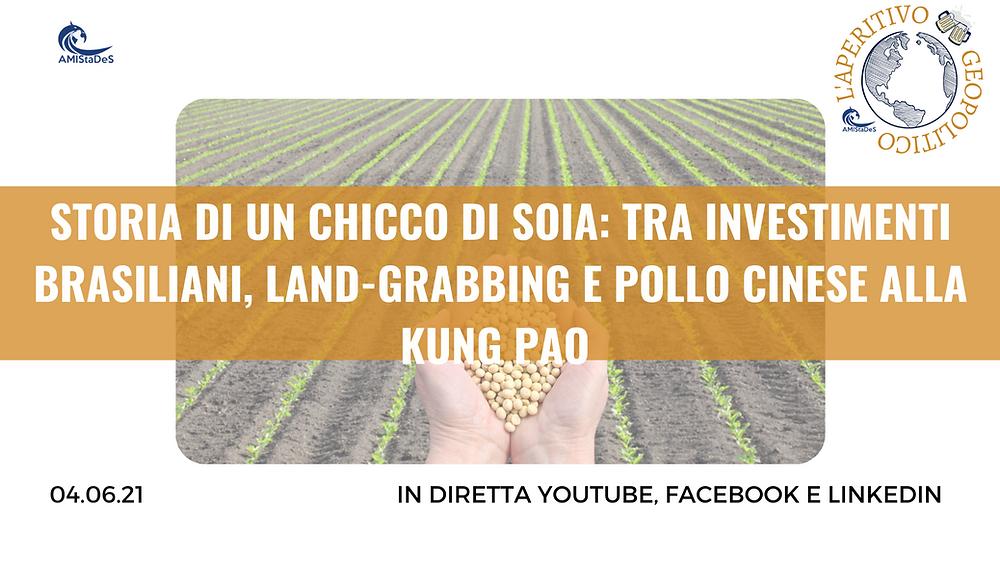 Landgrabbing in Brasile e Mozambico per la soia cinese