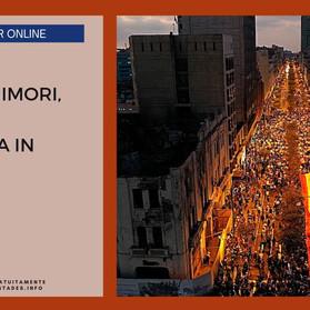 """Webinar gratuito """"20 anni dopo Fujimori, il Perù è ancora in fiamme"""" - 20 novembre 2020, alle 18.30"""