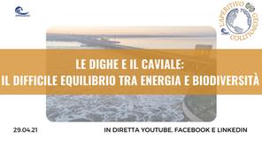 """Aperitivo Geopolitico """"Le Dighe e il Caviale: il difficile equilibrio tra energia e biodiversità"""""""