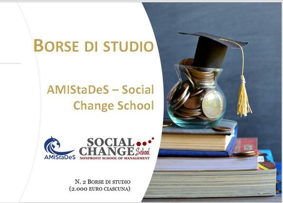 Partnership con la Social Change School