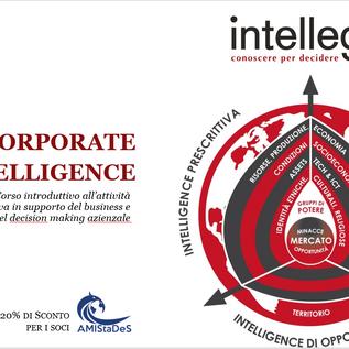 Supportare il decision making aziendale? Corso sulla Corporate Intelligence (-20% soci AMIStaDeS)