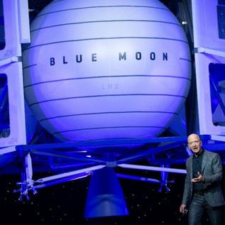 Il ritorno dell'uomo sulla Luna nel 2024 e i progetti di Jeff Bezos