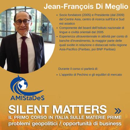JEAN FRANCOIS DI MEGLIO