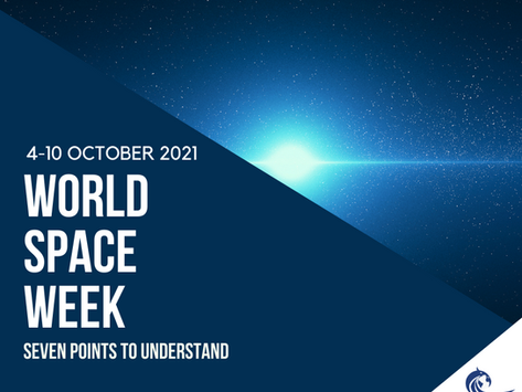 World Space Week 2021 - 7 Points to Understand