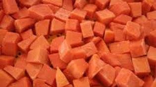 Papaya - Chunks (1kg)