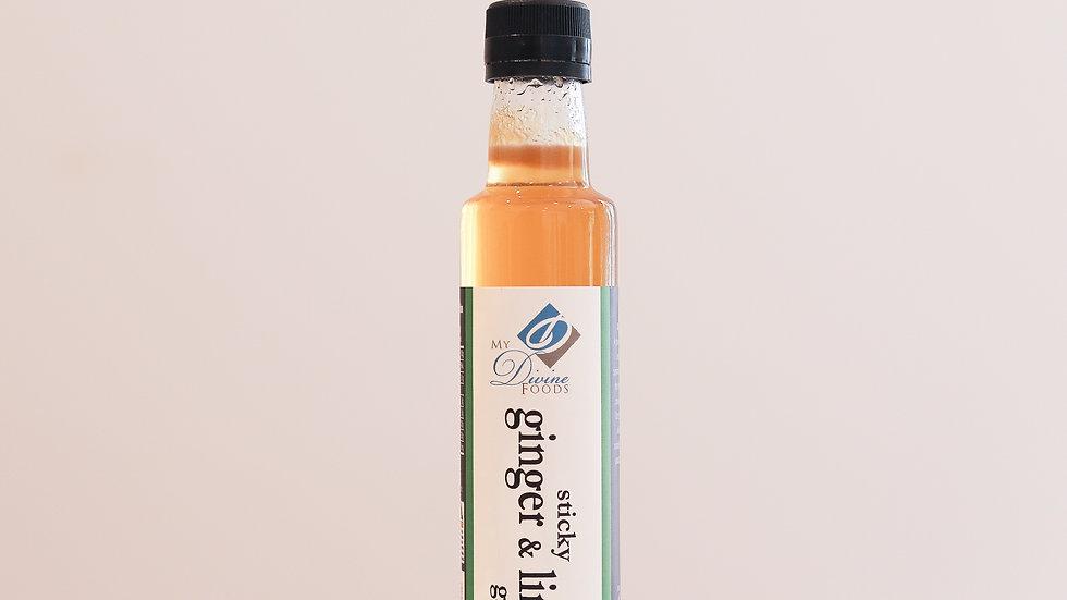 Sticky Ginger and Lime Glaze (250ml)