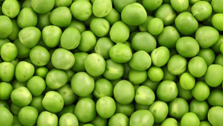 Organic Peas (1kg)