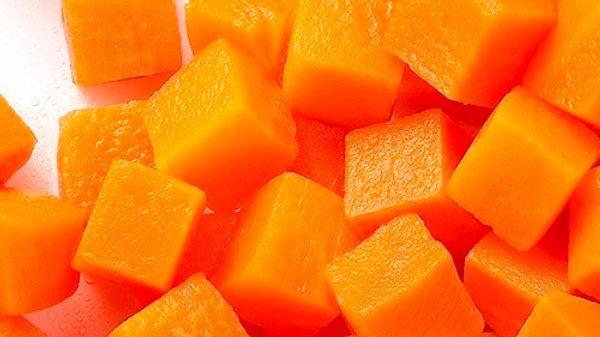Organic Carrot - Diced (1kg)