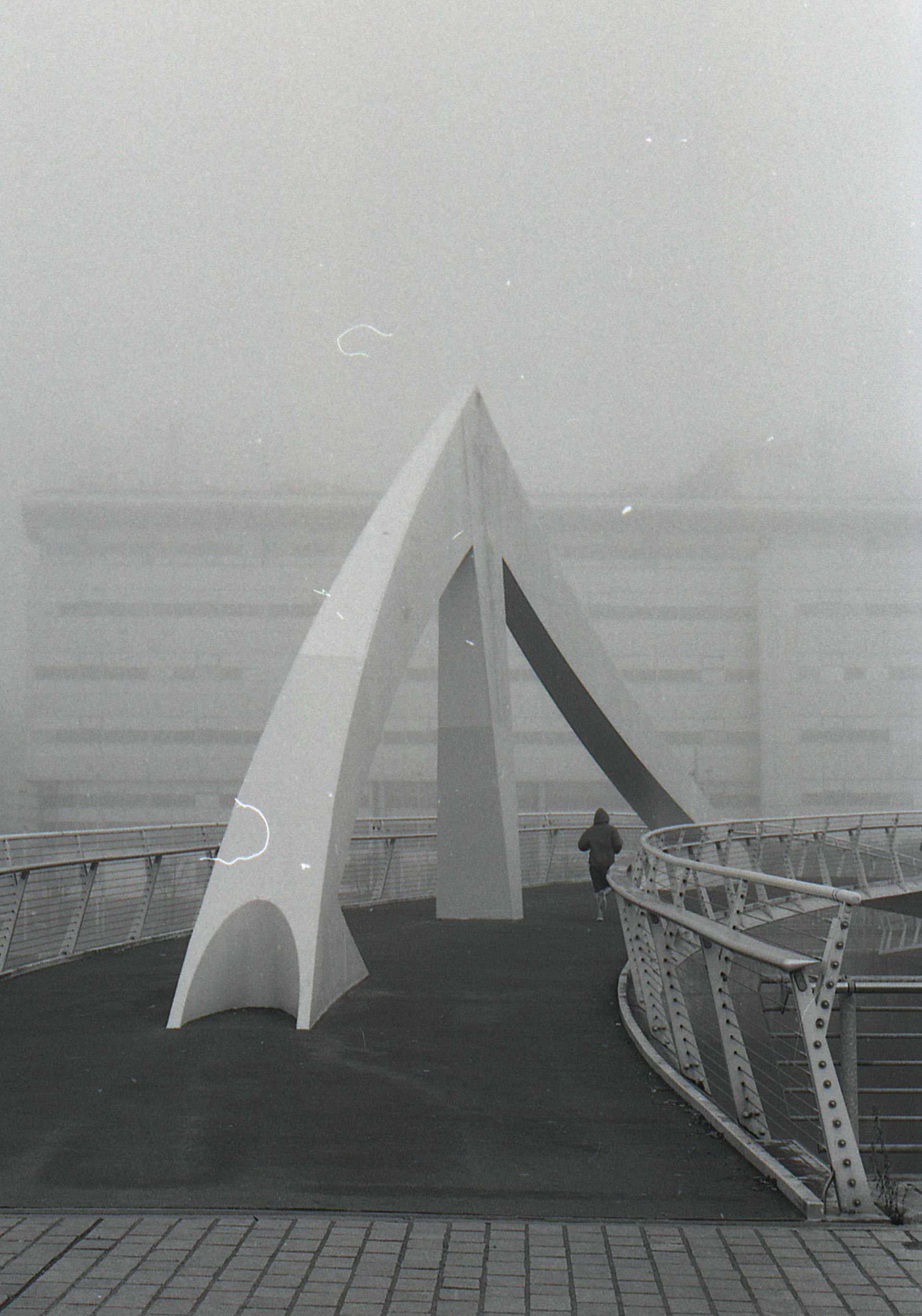Squiggly Bridge in the Fog (2016)
