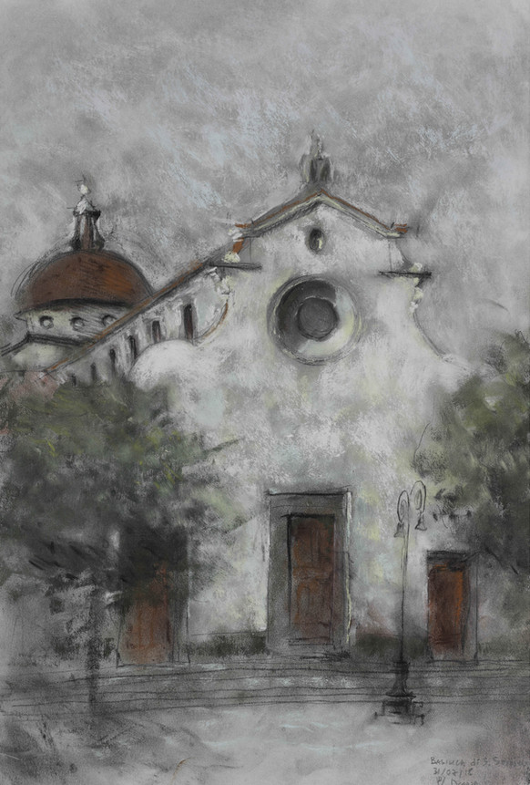Study of a Church 01 (2018)