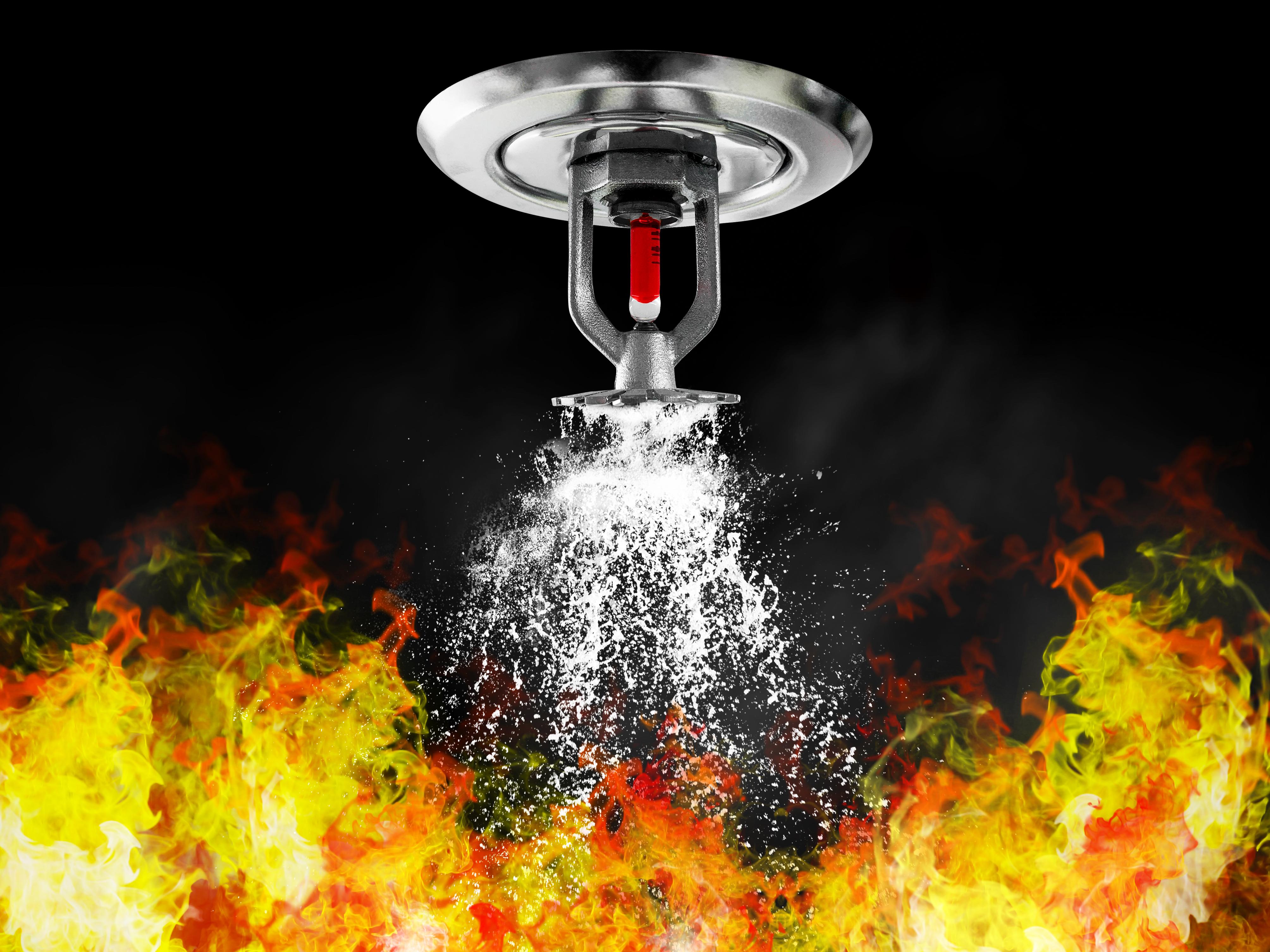 image of fire sprinkler
