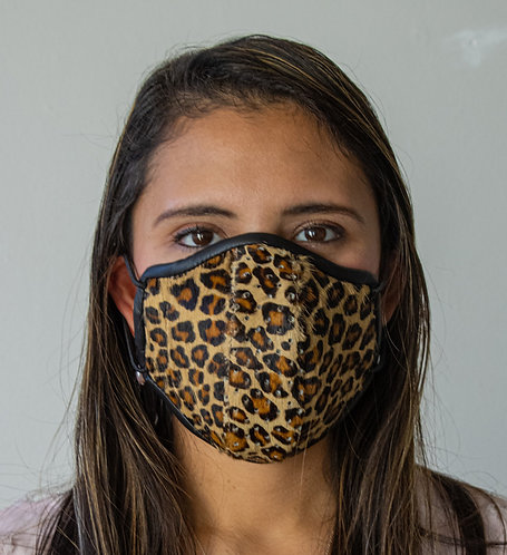 Womens Mask - Leopard