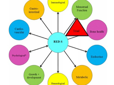 Are you eating enough?   A guide to Relative Energy Deficiency in Sport.