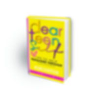 Yellow and Pink Dear teen sef book