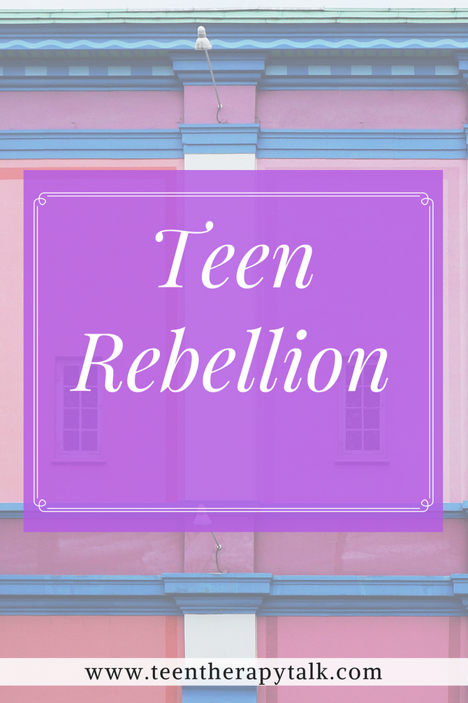How to manage teen rebellion