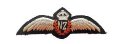 RNZAF pilot wing