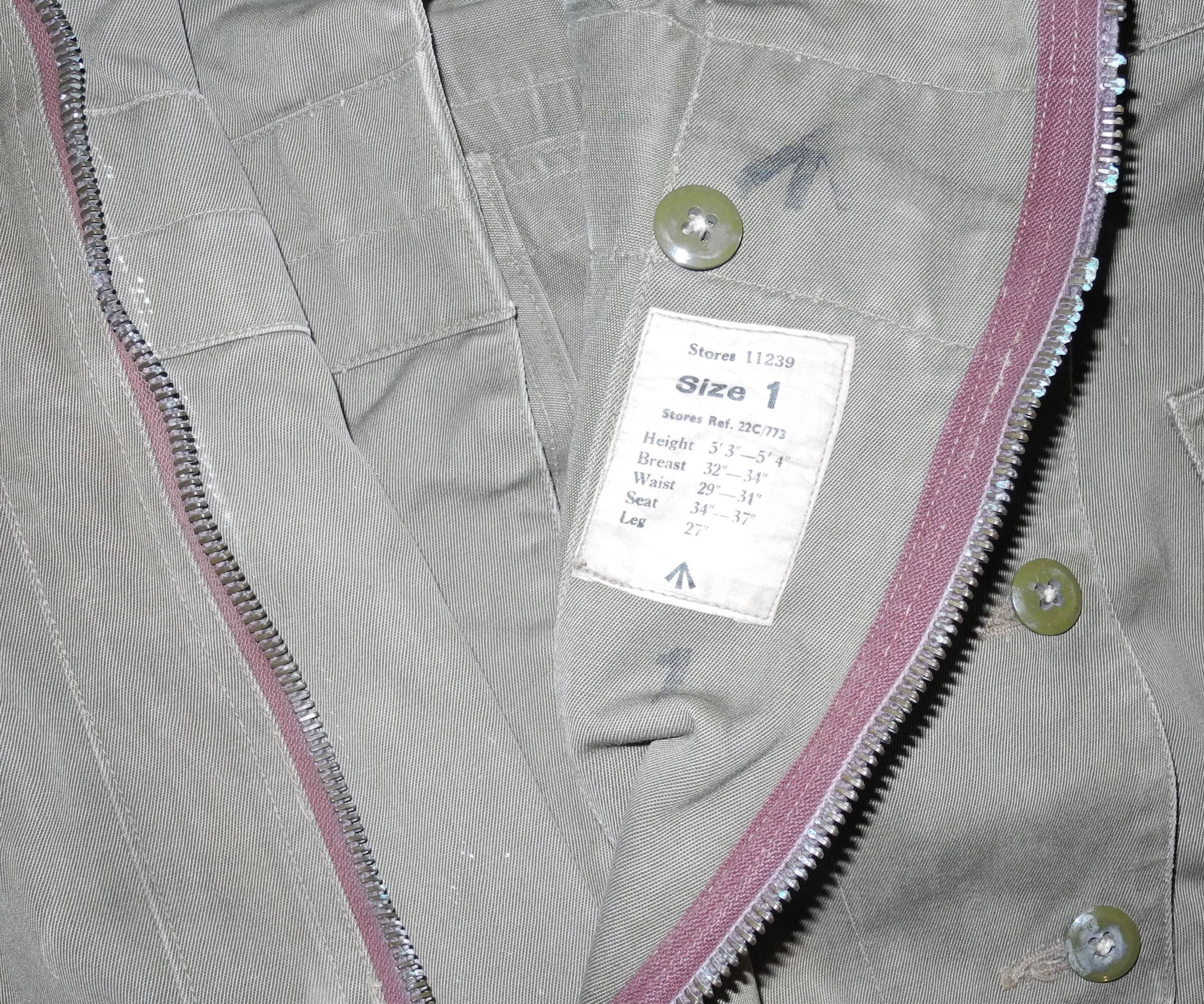 RAF 1941 Pattern Sidcot Suit with collar