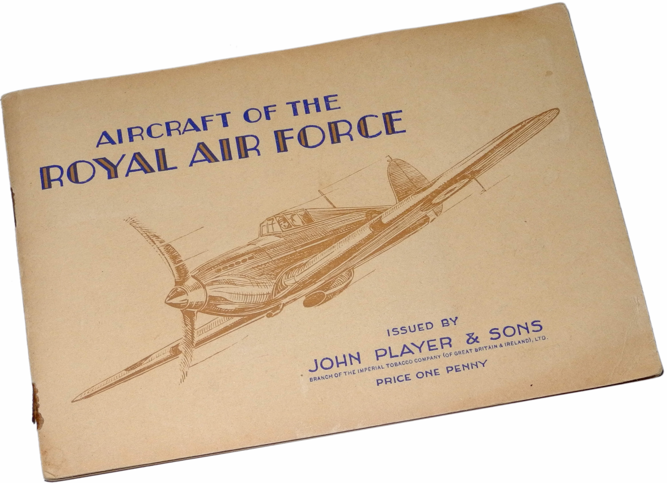 PLayers cigarette cards + album RAF