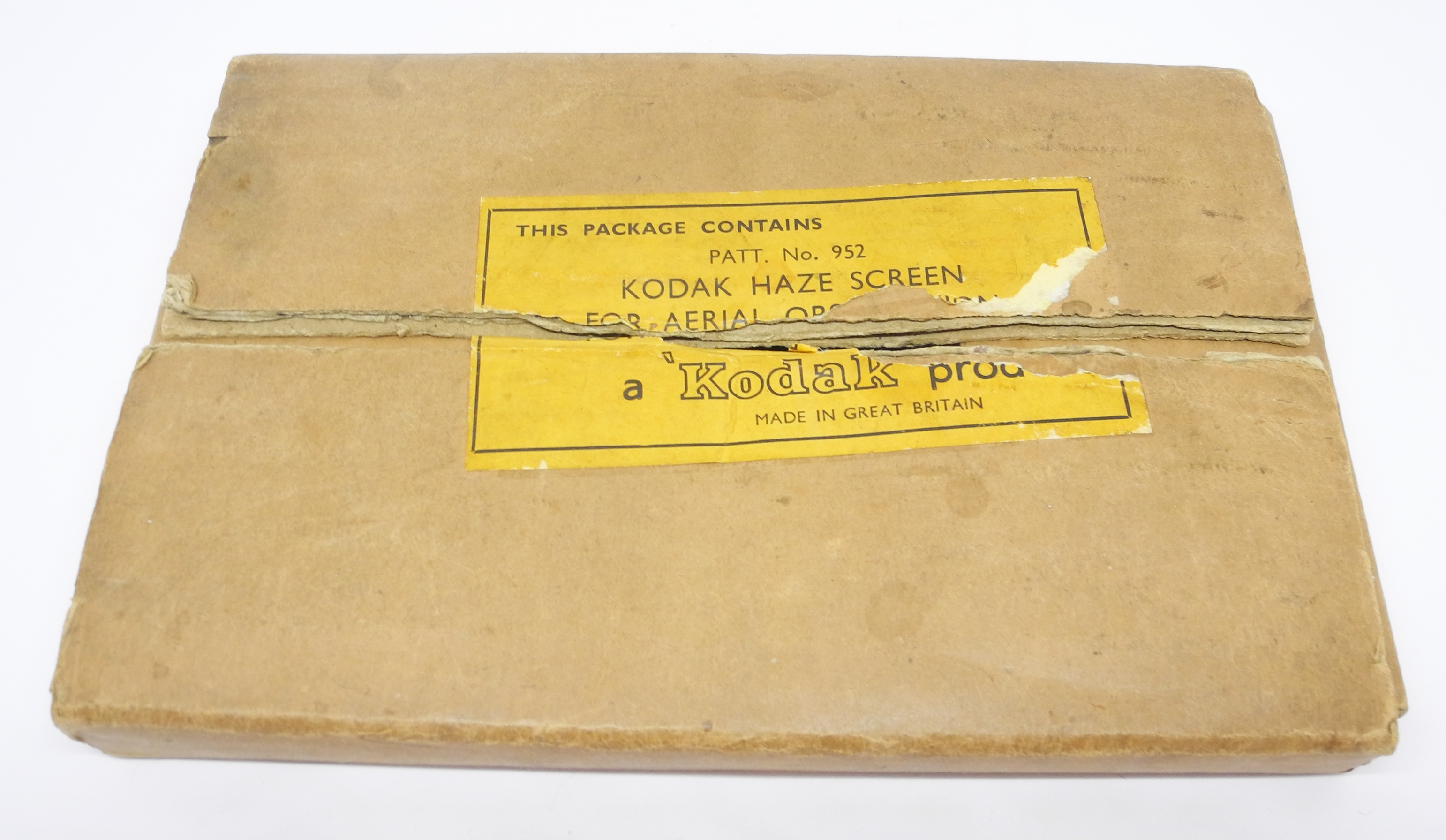 RAF Kodak Haze Screen