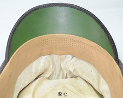 Luftwaffe enlisted man's visor cap with green waffenfarbe for Air Traffic Control