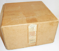 RAF A-13A oxygen mask unissued, boxed and dated 1957