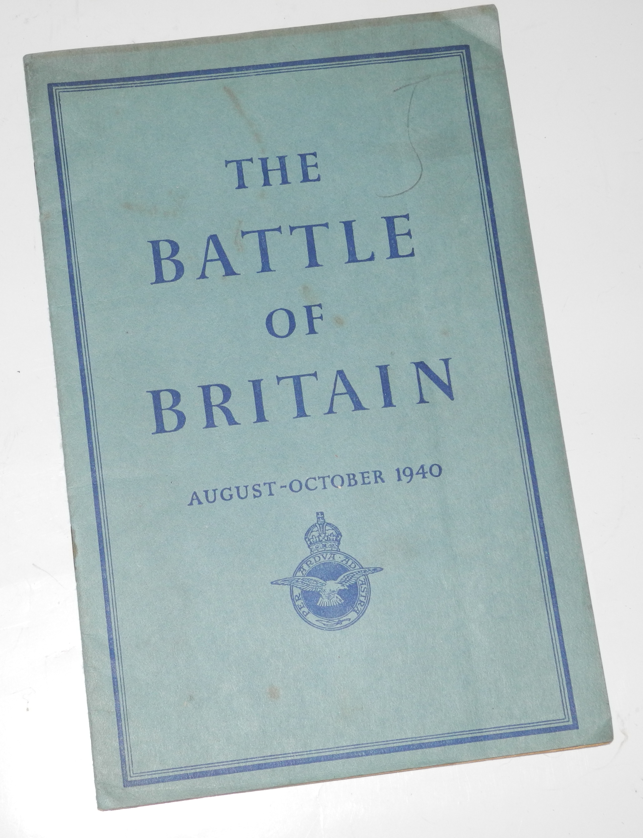 Battle of Britain booklet