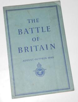 Battle of Britain booklet