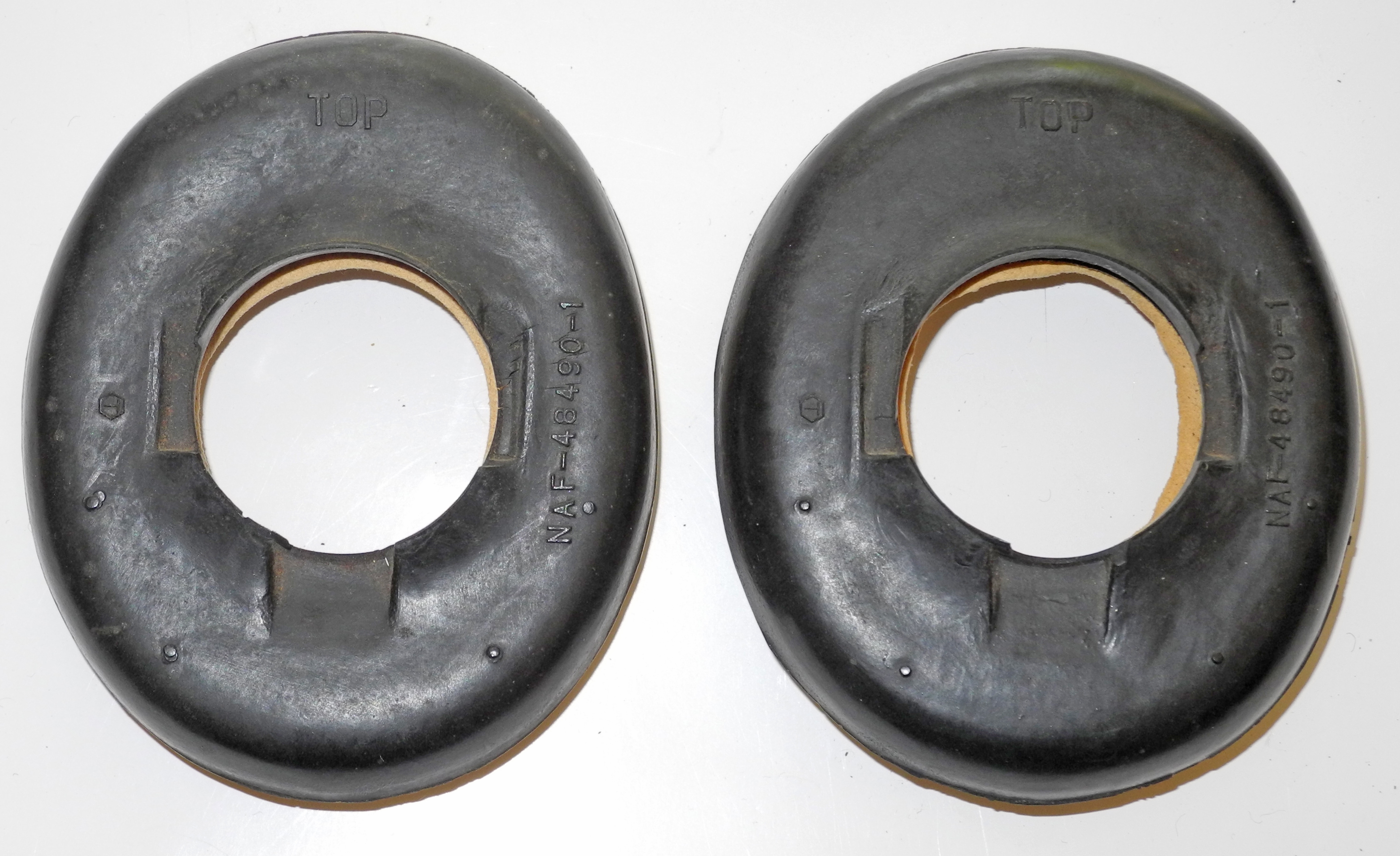 USN receiver headset pads, pair