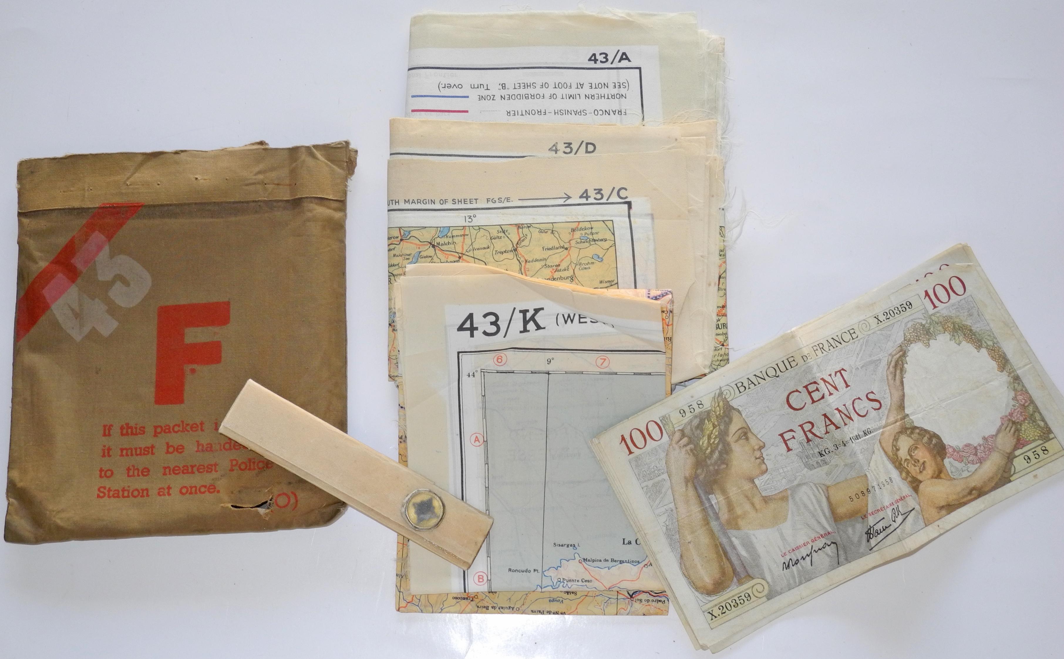 RAF Escape Purse - MK III France