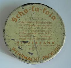 Scho-ka-kola tin Berlin (empty)