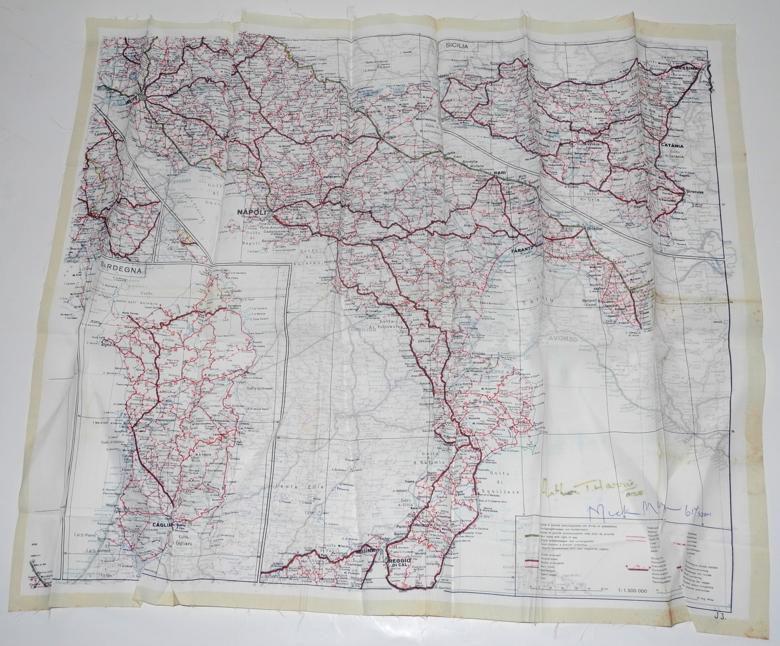 RAF Dambusters signed items3014