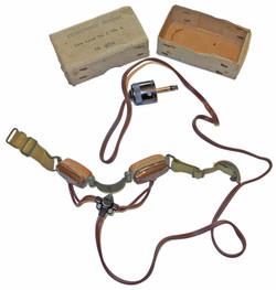Army/ Fleet Air Arm throat mic.