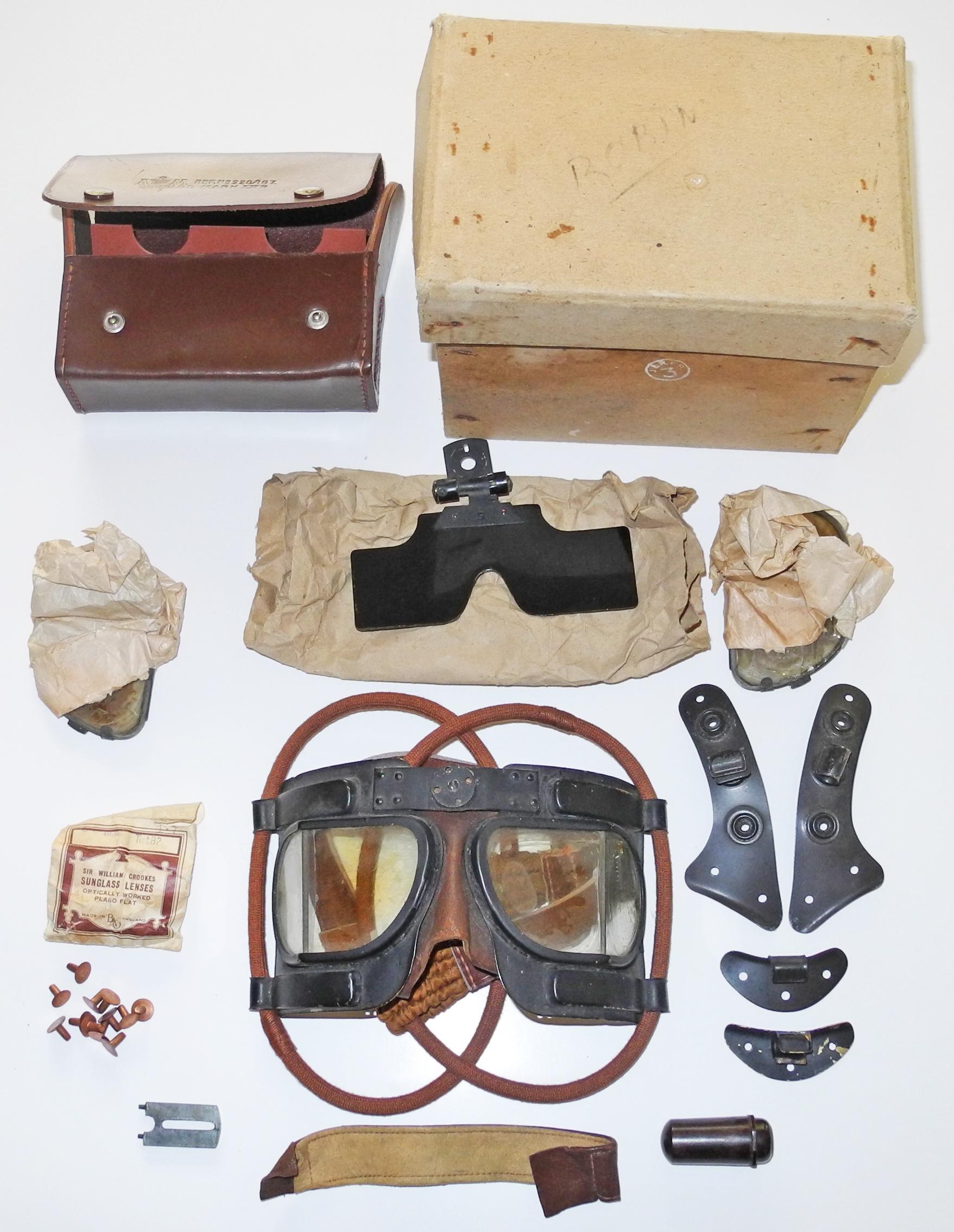 RAF Mk IVB Goggles complete