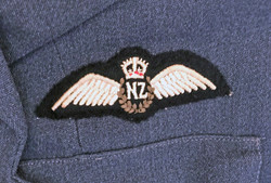 Fantastic RZNAF complete pilot's uniform named and with history.
