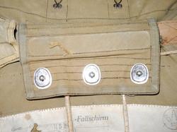 Luftwaffe Battle of Britain chest-parachute complete