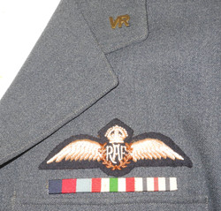 """Incredible attributed """"Yank in the RAF"""" uniform to George T. Westinghouse."""