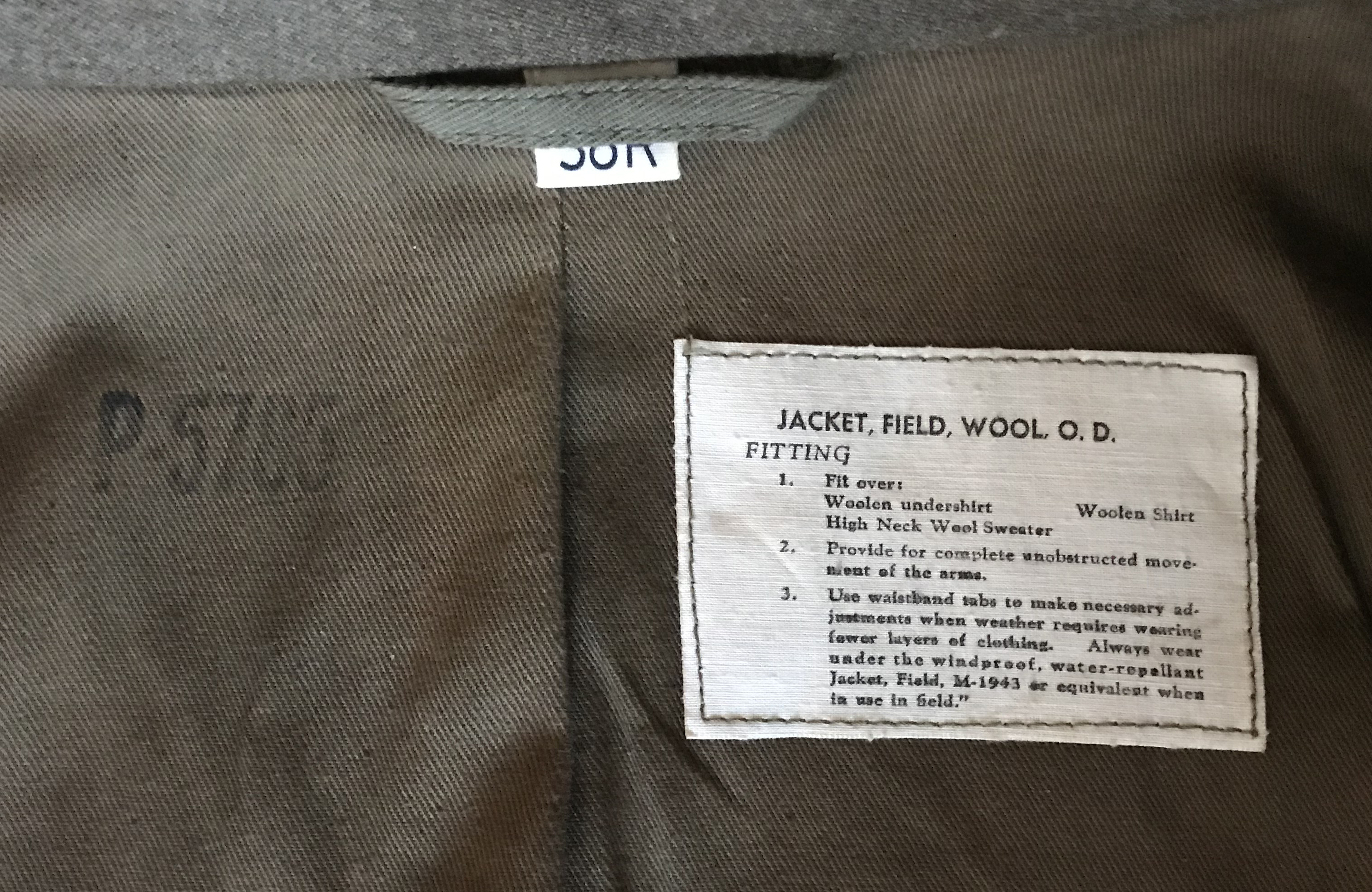 9th Air Force enlisted aircrew field jacket