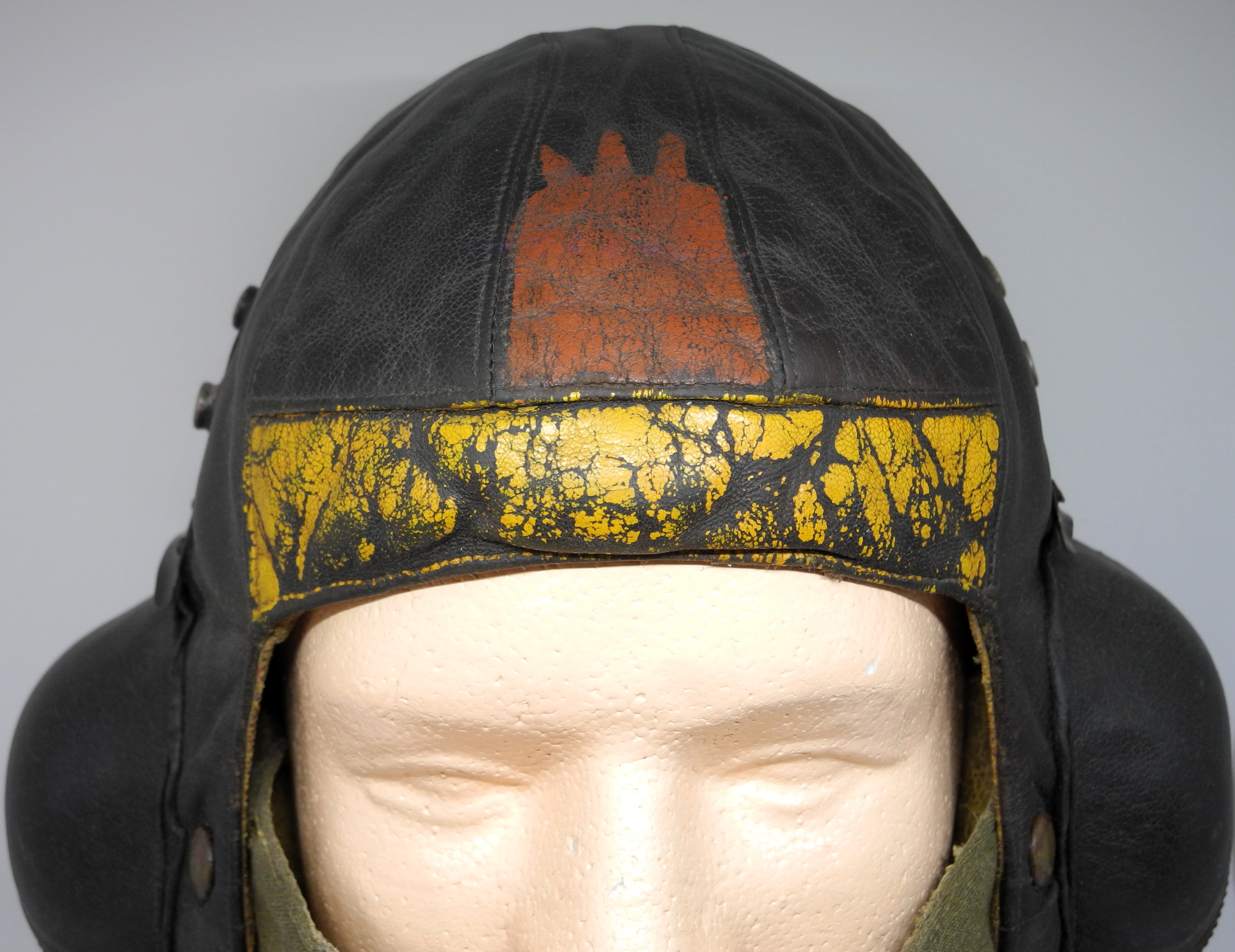 RAF B painted B helmet + D mask2