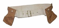 RAF belt with heated pouches