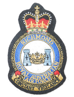 RAAF Flight Suit patch Richmond