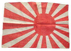 """Small Japanese Navy """"Rising Sun"""" flag - personal size."""