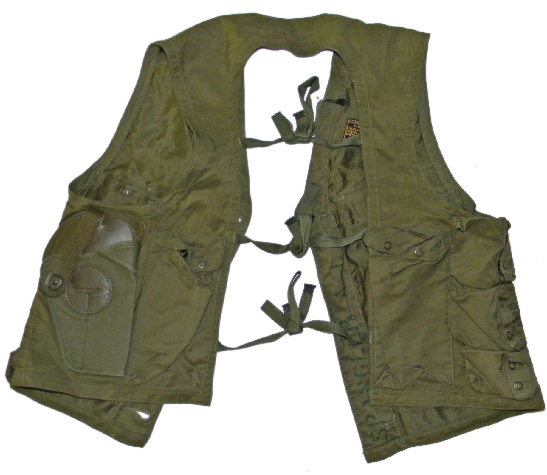AAF C-1 vest + contents