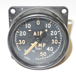 RAF Air Temperature Gauge believed to be from a Lancaster