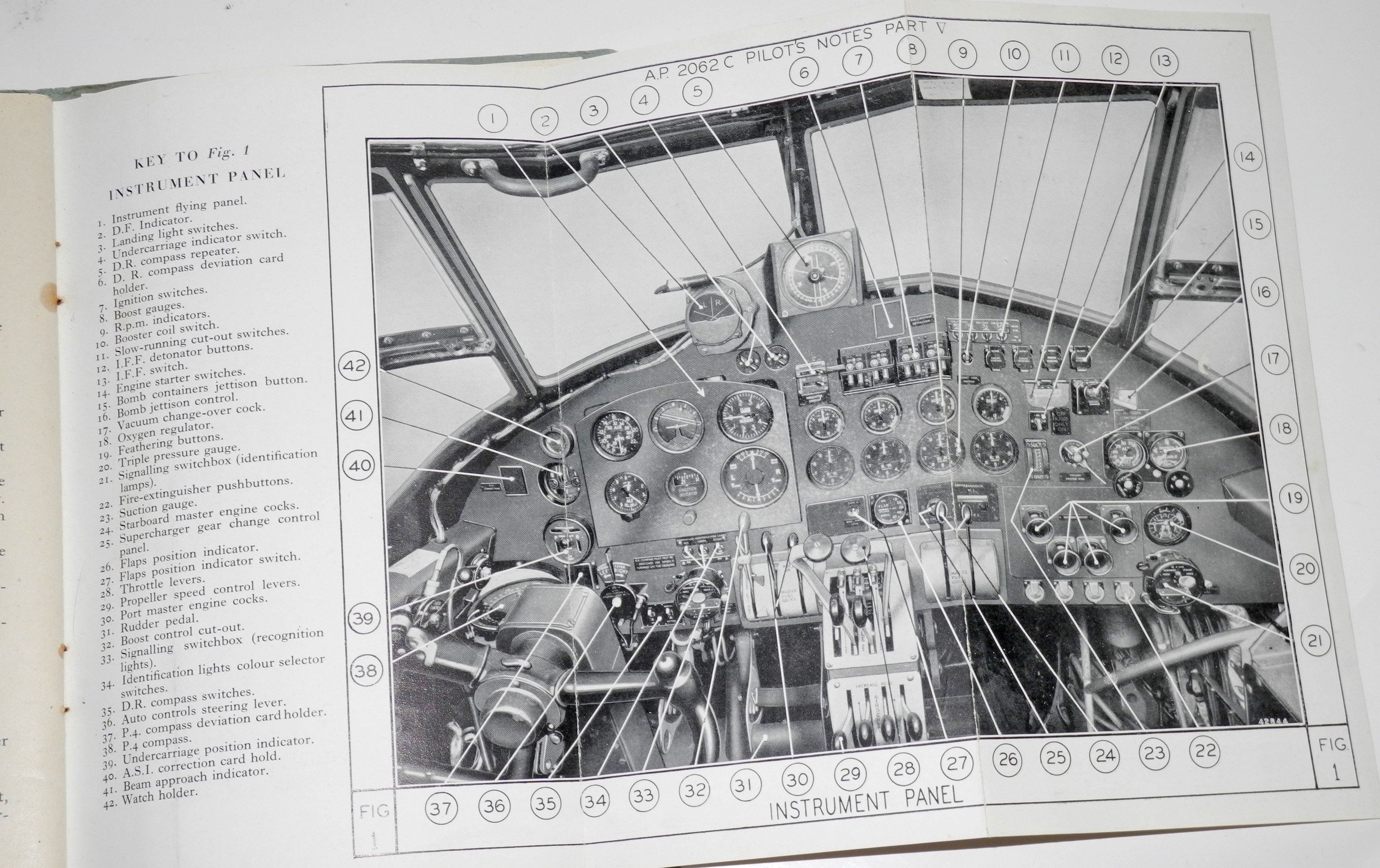 RAF Pilots Notes for Avro Lancaster