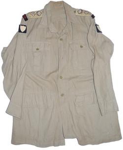 British 8th Army LRDG bush shirt/jacket