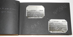 2 RAF photo albums: Stirling aircrew + training in USA